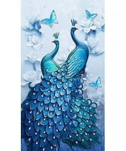 Peacocks Diamond Painting
