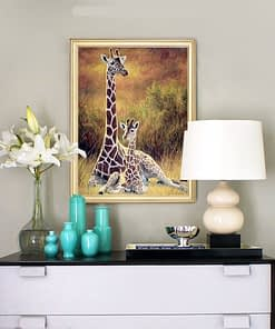 Giraffe Diamond Painting