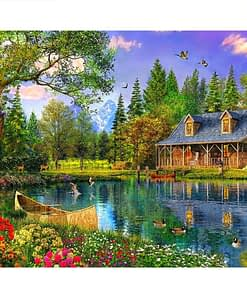 Tree House Diamond Painting
