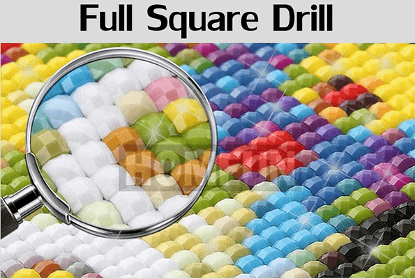 SQUARE DRILL diamond painting