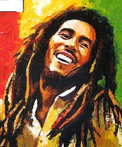 Bob Marley Diamond Painting