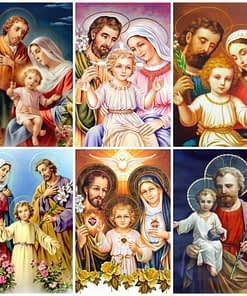 Jesus Family Diamond Painting