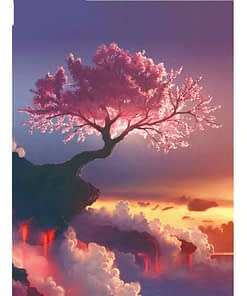 Sakura Tree Diamond Painting