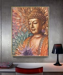 Buddha Diamond Art