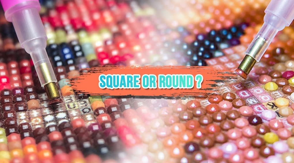 Square Vs Round Drill for diamond painting