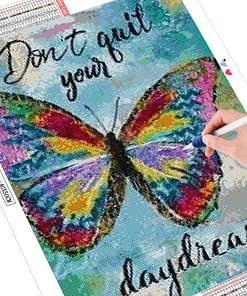 Butterfly Diamond Painting Text