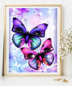 Butterfly Diamond Embroidery Painting