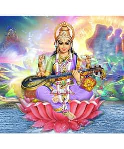 Saraswati Diamond Painting