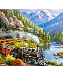 Train Diamond Painting