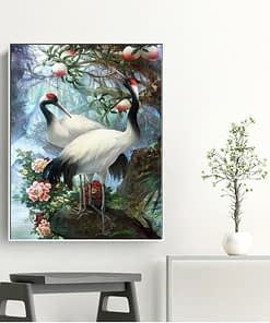 Stork Diamond Painting