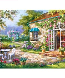 Village House Diamond Painting