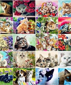 Cat DIY 5D Diamond Painting