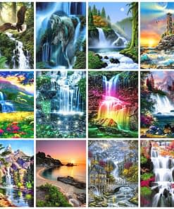 Waterfall 5D Diamond Painting