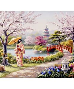 Japanese Girl Diamond Painting