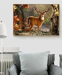 5D DIY Deer Diamond Painting