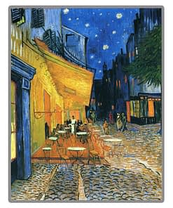 Café Terrace at Night Diamond Painting