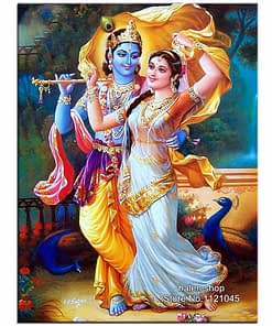 Radha Krishna Diamond Painting