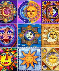 Sun Diamond Painting