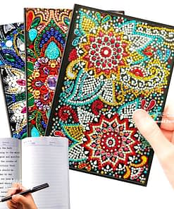 5D Diamond Painting Notebook Cover Kits