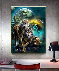Wolf Diamond Painting Full Square
