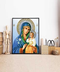 Mother Mary and Jesus Diamond Painting