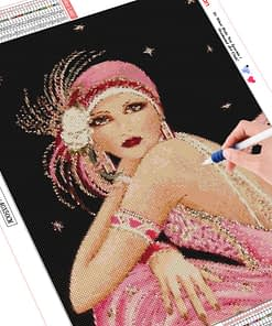 HUACAN Diamond Painting Beauty Painting With Diamonds 5d Diamond Embroidery Sets Full Square Mosaic Picture Of