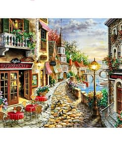 5D DIY City Landscape Diamond Painting