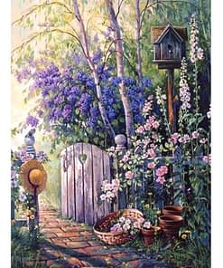 5D Diamond Painting Garden Path