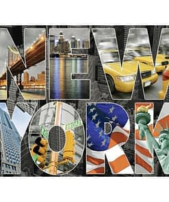 5D DIY New York Diamond Painting
