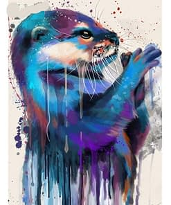 5D Diamond Painting Otter