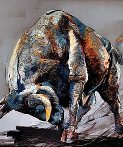 5D Diamond Painting Bull