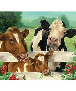5D Diamond Painting Cow Cattle