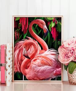 5D DIY Flamingo Diamond Painting Art Kits