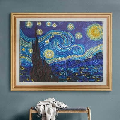 Frame your diamond painting with Standard Frame