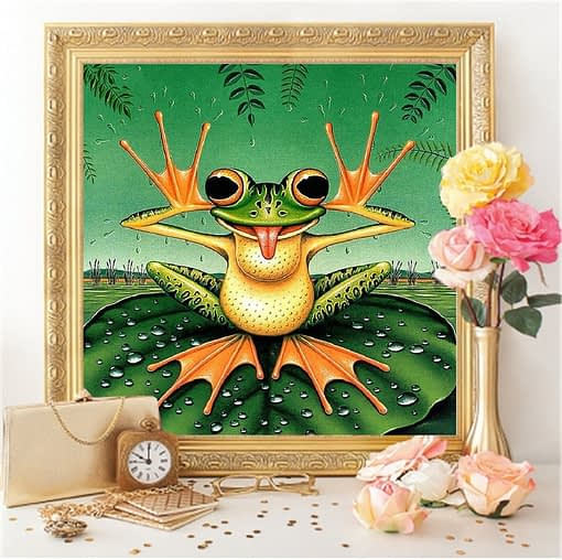 Frog Diamond Painting
