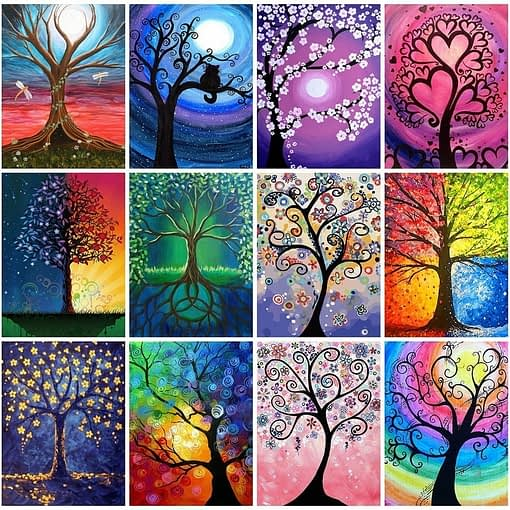 Magic Tree Diamond Painting