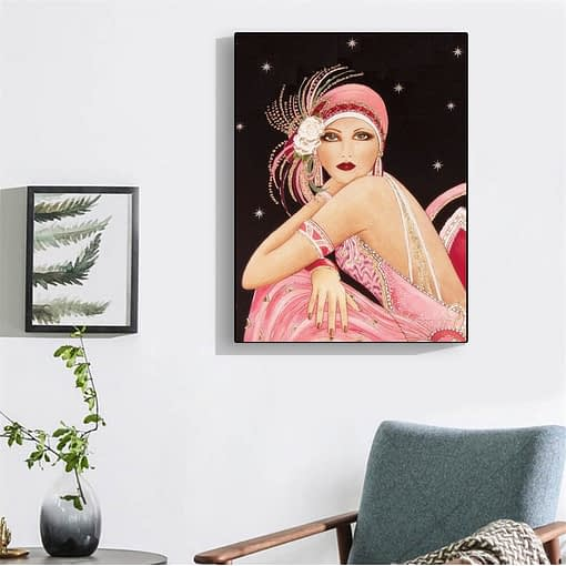Woman Diamond Painting