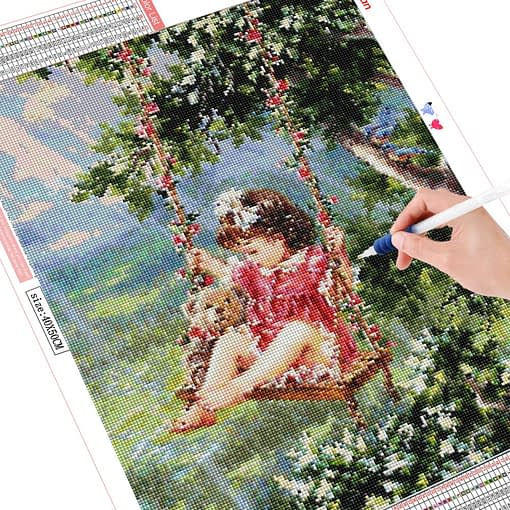 HUACAN 5d Diamond Painting Full Square Child Diamond Embroidery Mosaic Portrait Rhinestone Pictures Art Home Decorations