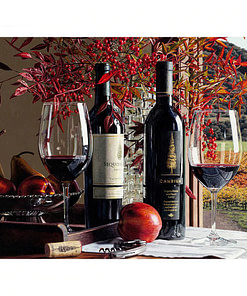 Wine Diamond Painting