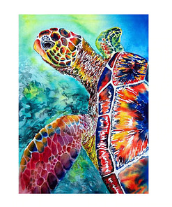 Turtle Diamond Painting