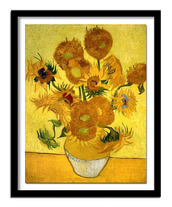 Van Gogh Sunflowers Diamond Painting