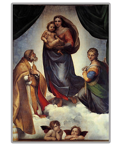 The Sistine Madonna Diamond Painting