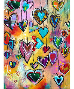 DIY 5D Love Heart Diamond Painting